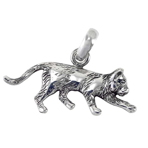 Stalking Cat Large Charm