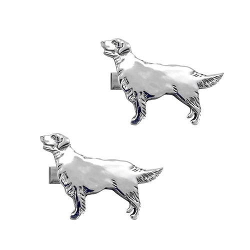 Golden Retriever Cufflinks