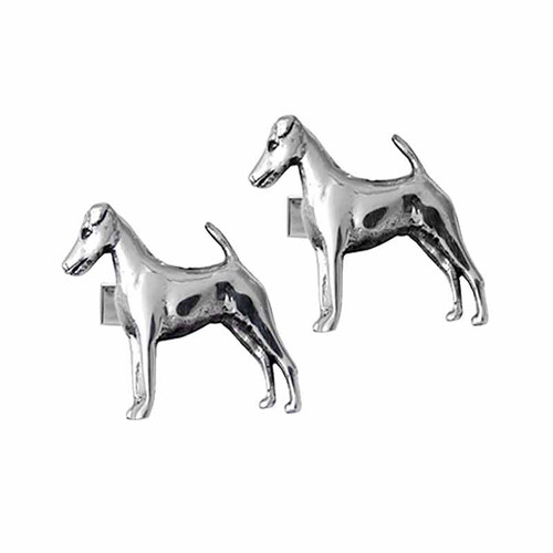 Smooth Fox Terrier Cufflinks