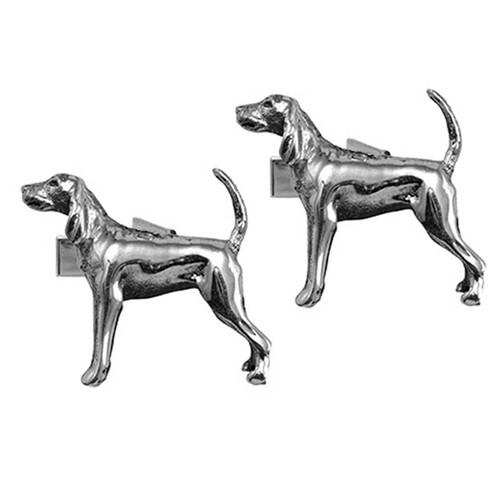Black and Tan Coonhound Cufflinks