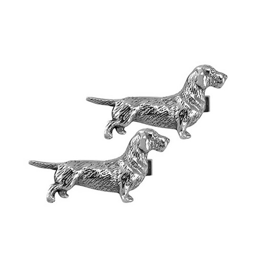 Wire Haired Dachshund Cufflinks