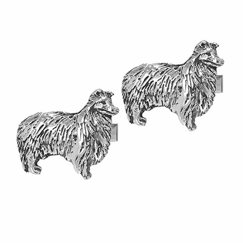 Sheltie Cufflinks