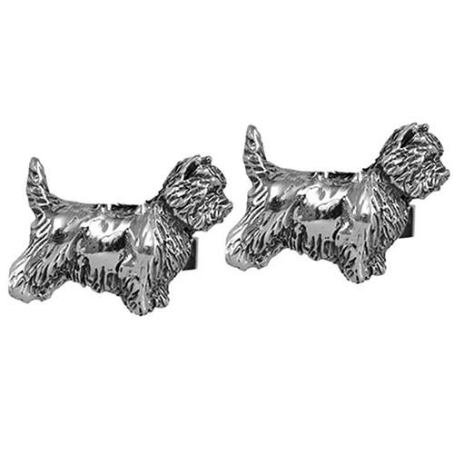 Cairn Terrier Cufflinks
