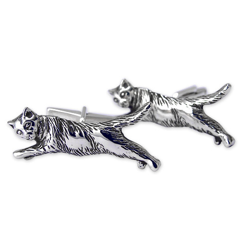 Flying Cat Cufflinks