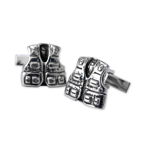 Fishing Vest Cufflinks
