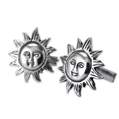 Sun Cufflinks