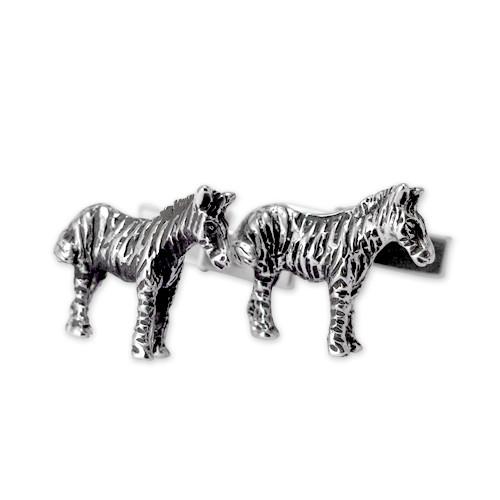 Zebra Cufflinks
