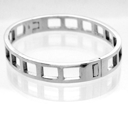 Bangle Bracelet Square Cut