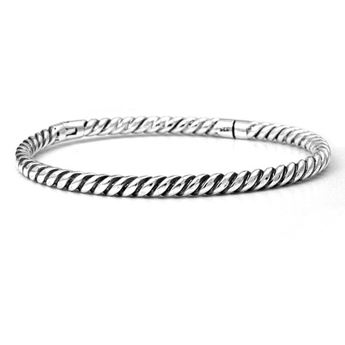 Bangle Bracelet Twisted