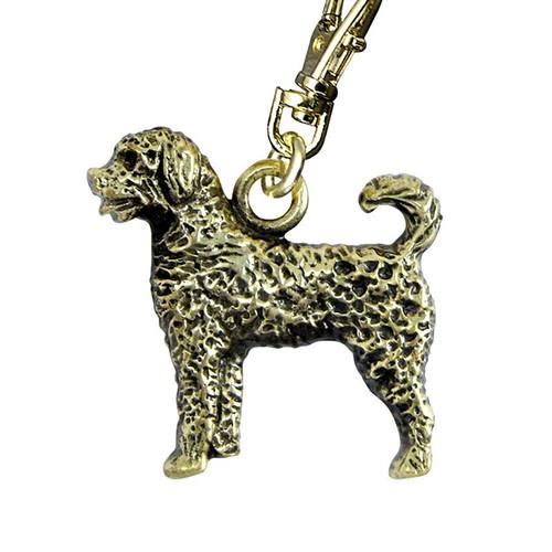 Labradoodle Brass Zipper Pull