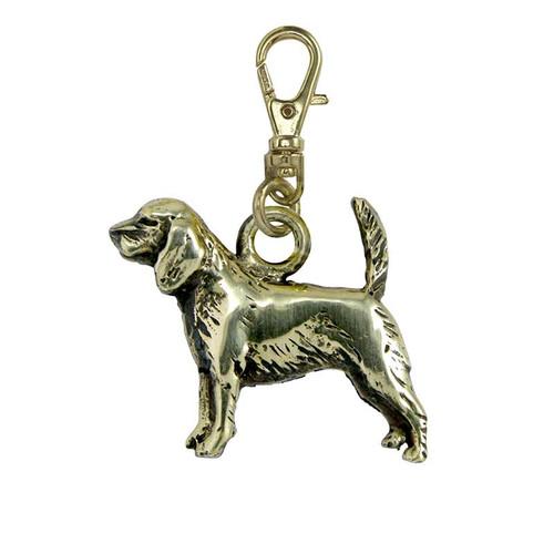 Beagle Hound Brass Zipper Pull