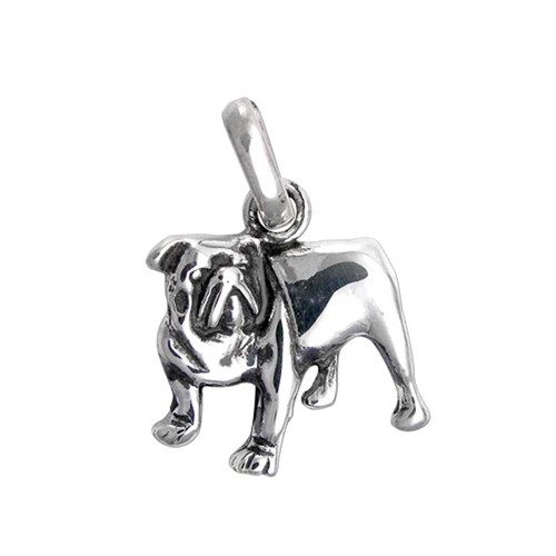 Bull Dog Charm Medium