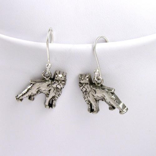 Brussels Griffon Earrings