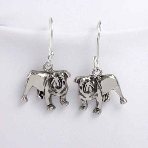 Bull Dog Earrings