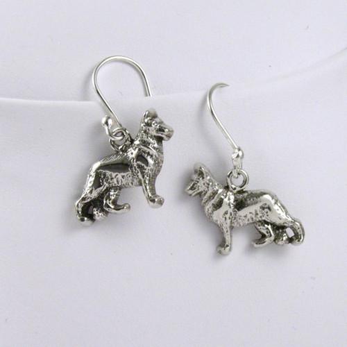 German Shepherd Earrings