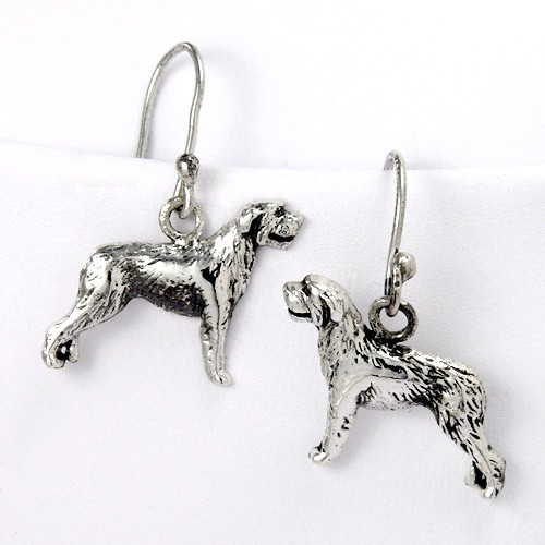 Irish Wolfhould Earrings