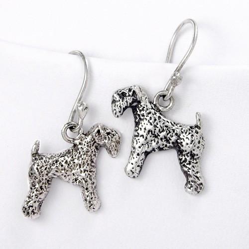 Kerry Blue Terrier Earrings