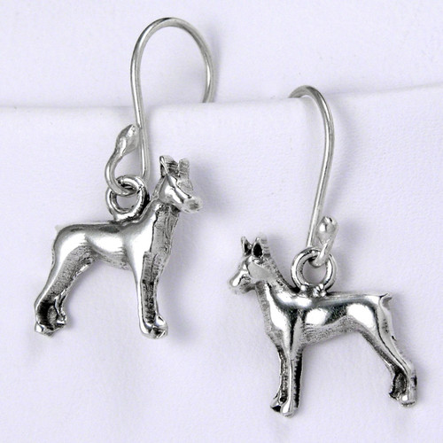 Miniature Pinscher Earrings