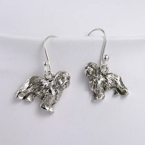 Old English Sheepdog Earrings