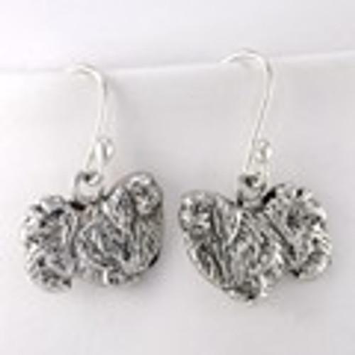 Pekingese Earrings