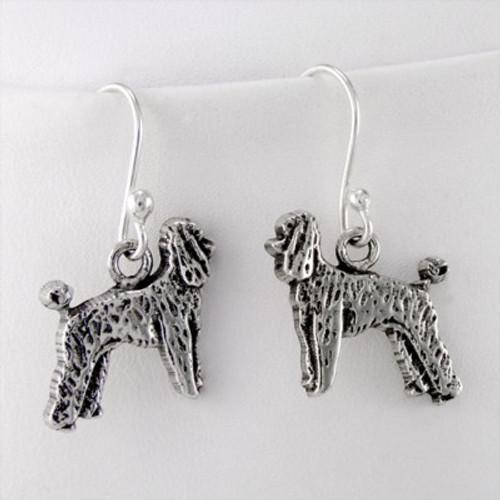 Poodle Puppy Earrings