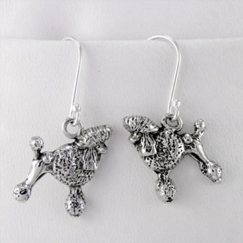 Poodle Show Cut Earrings