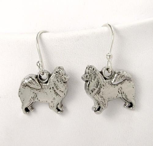 Samoyed Earrings