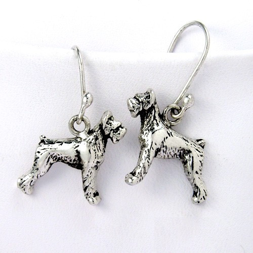 Schnauzer Earrings - Giant