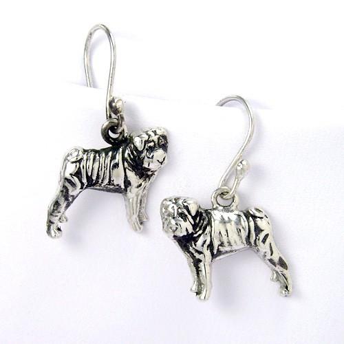 Sharpei Earrings