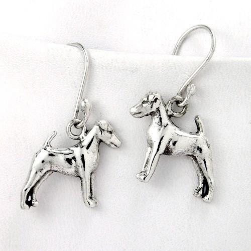 Smooth Fox Terrier Earrings