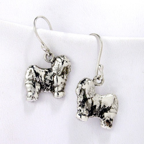 Tibetan Terrier Earrings