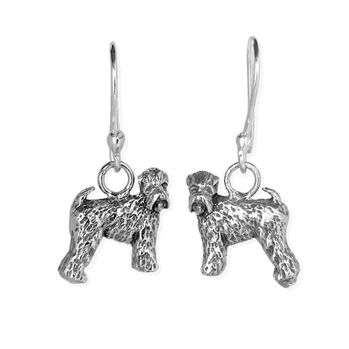 Wheaten Terrier Earrings