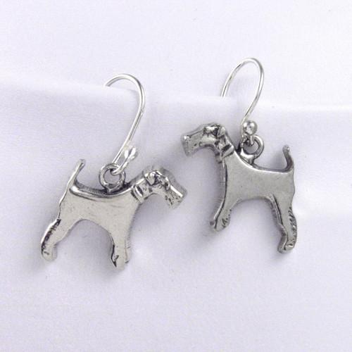 Wire Fox Terrier Earrings