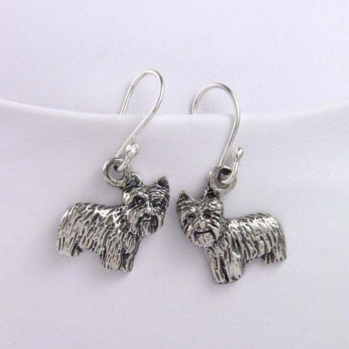 Yorkie Puppy Earrings