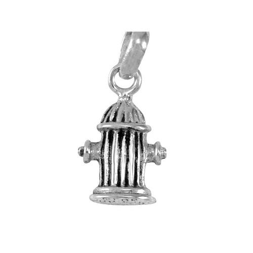 Silver Hydrant Charm