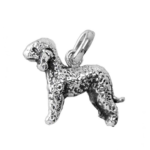 Bedlington Terrier Medium Charm