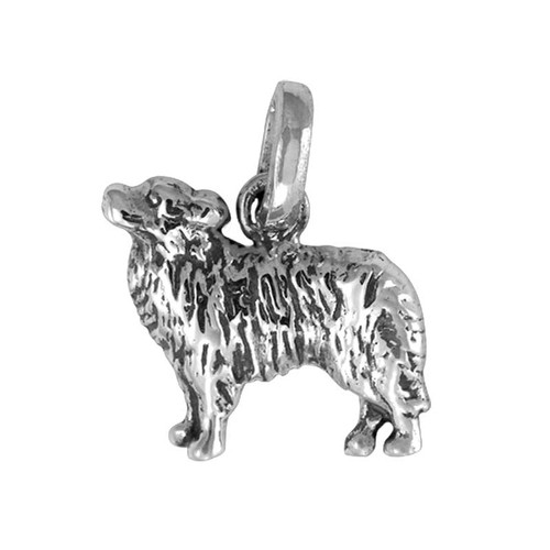 Border Collie Medium Charm