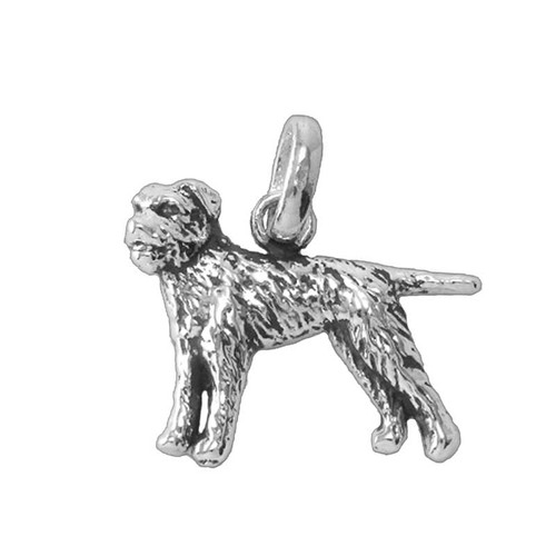 Border Terrier Medium Charm