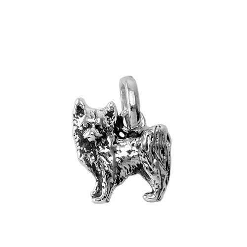 Long Haired Chihuahua Medium Charm