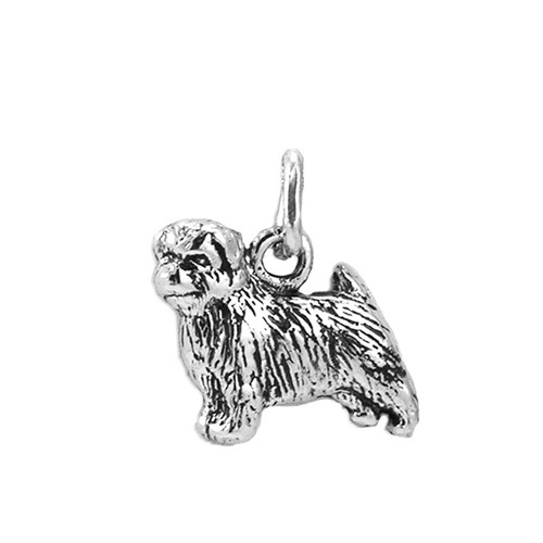 Norfolk Terrier Medium Charm
