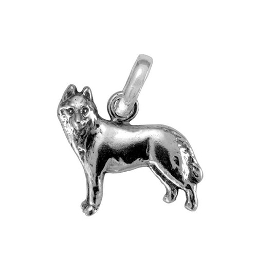 Siberian Husky Medium Charm