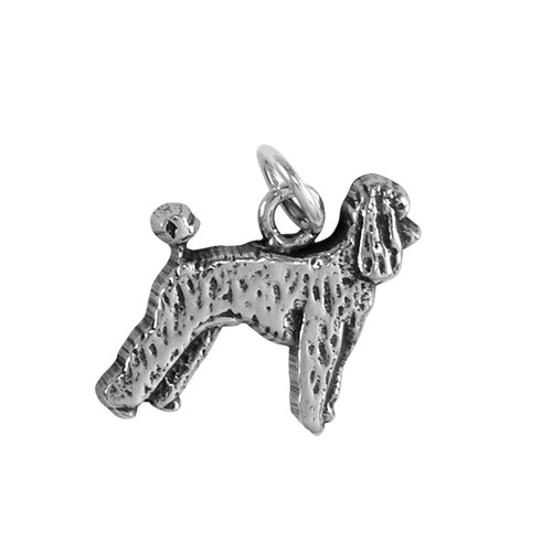 Poodle Puppy Small Charm