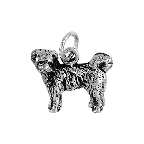 Tibetan Terrier Puppy Small Dog Charm
