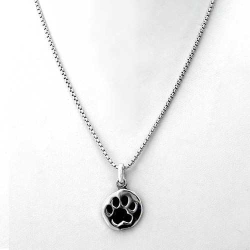 Paw Print Charm Necklace Medium