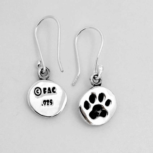 Paw Print Earrings