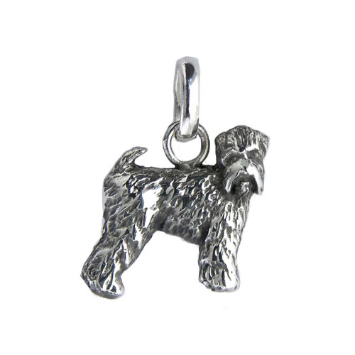 Medium size soft coated wheaten terrier charm