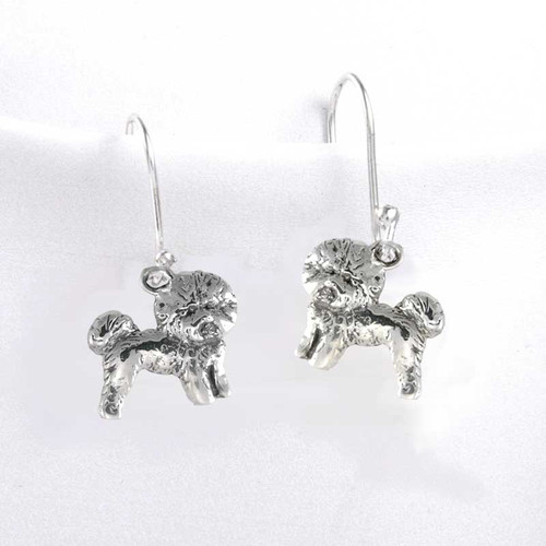 Bichon Frise II Earrings
