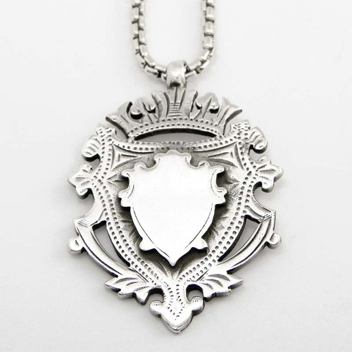 Crest Medallion Pendant