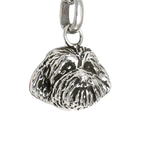 Shih Tzu Puppy Head Pendant