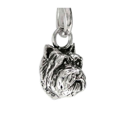 Cairn Terrier Head Pendant